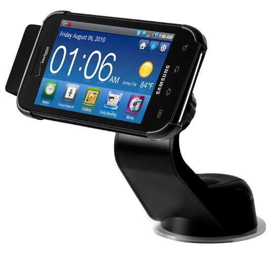Samsung shows off line of Galaxy S accessories, uses Fascinate to