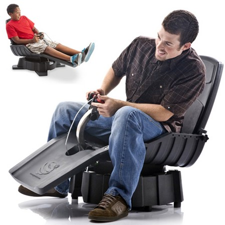 UK gamers finally get a taste of overpriced immersion with the PS3 X-Dream Gyroxus motion chair (video)