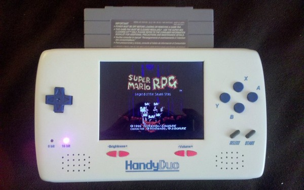 Modder loveablechevy completes HandyDuo, her two year quest for portable NES and SNES bliss