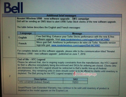 HTC Legend prematurely put out to pasture due to AMOLED supply constraints?