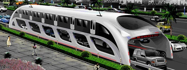 hugebus02082010 1280706868 China to build ginormous buses that cars can drive under