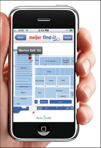 meijer find it Meijer deploys indoor positioning trial, helps you find the Morton Salt faster