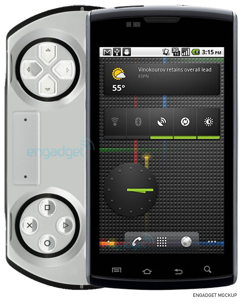 Sony Ericsson to Surprise the World with a Mobile Gaming Hybrid Phone