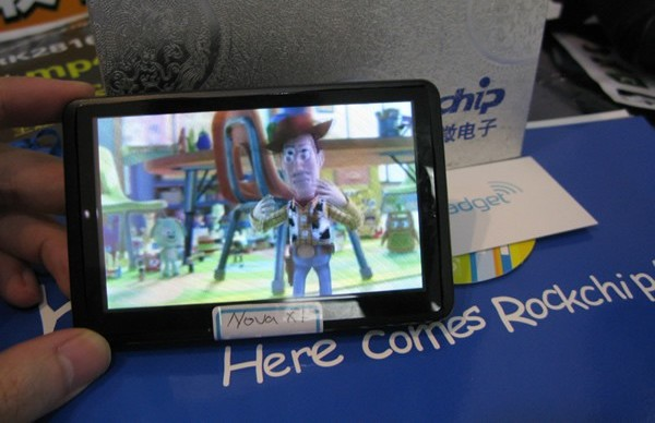 Rockchip's Supernove x1 tablet does 3D without glasses or tech specs