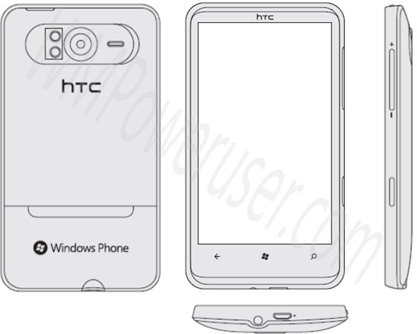 HTC HD7 schematic illustrates our Windows Phone 7 future