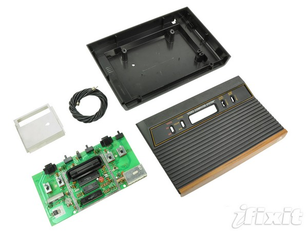iFixit continues its retro gaming rampage, reduces an innocent Atari 2600 to bare components