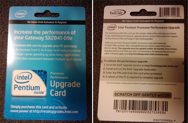 9 18 10 intel600 Intel wants to charge $50 to unlock stuff your CPU can already do
