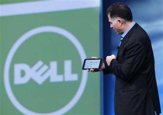 Dell no mundo dos tablets