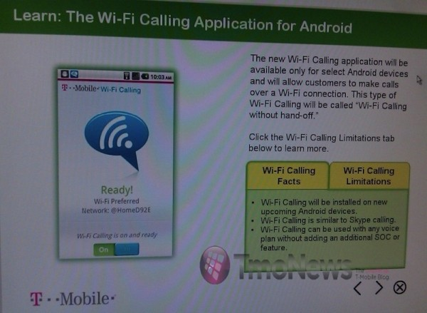 T-Mobile to Bundle Wi-Fi Calling App with Future Android Devices