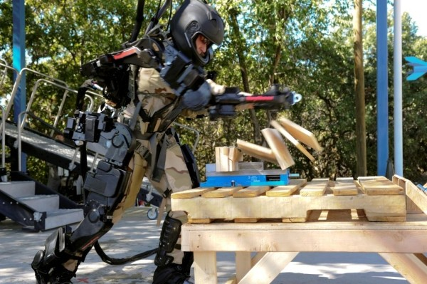 Exoskeleton Suit Next Step in Military Technology