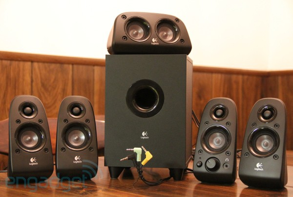 9 9 10 logitechz506 600 copy Logitech Z506, Hot 5.1 Speakers System