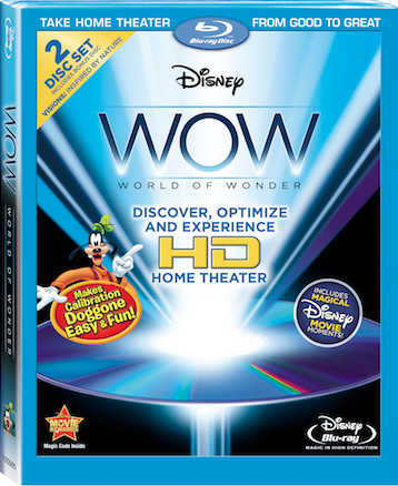 Disney WOW Blu-ray Disc