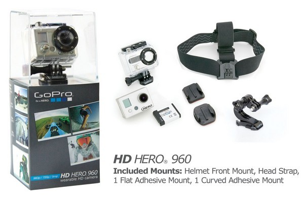 GoPro releases its budget-friendly $179 HD Hero 960, teases 3D case for moneybags