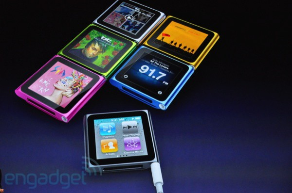 Conferencia Apple iPod Nano touch colores