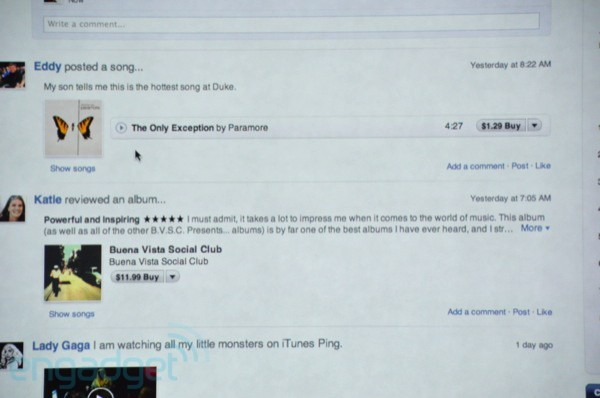 itunes 10 Ping