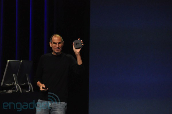 Nuevo Apple TV Steve Jobs