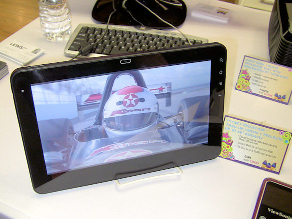 Viewsonic G Tablet with 10 Android OS 2.2, NVIDIA Tegra 2