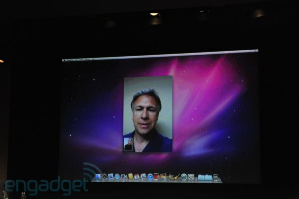 FaceTime in the Mac
