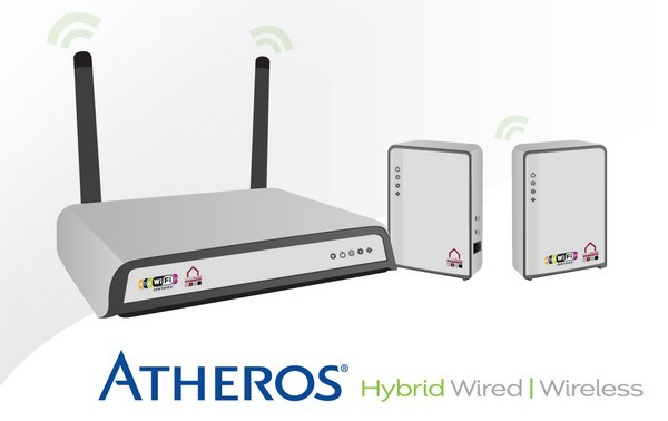 Atheros Hybrid system merges WiFi with powerline networking in one tidy bundle