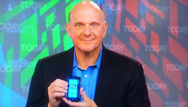 Steve Ballmer talks WP7 today on Today, gets no respect from Matt Lauer