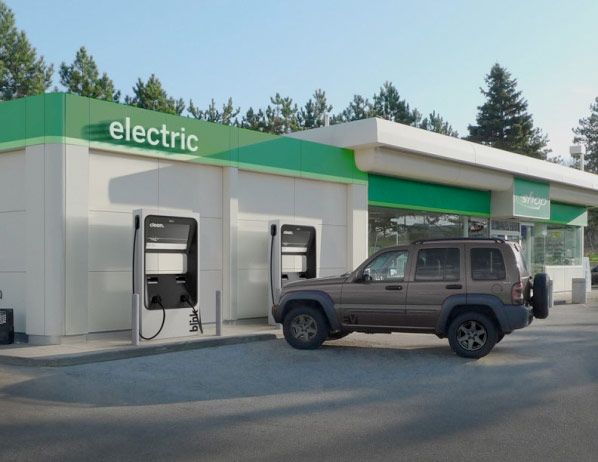 DC Fast Charger Joins the ECOtality EV Charging Station Fleet