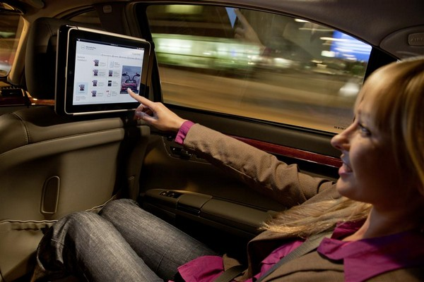 Mercedes-Benz gets in on the factory iPad integration game, makes headrests a little smarter, pricier