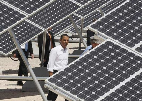 White House getting solar upgrade, Obama bath water to be heated by the sun, baby