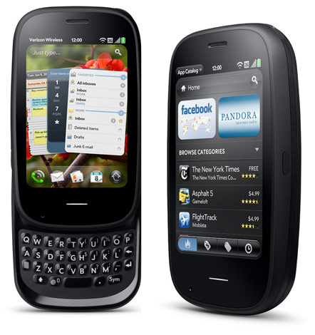 palm pre 2 pandora verizon Palm Pre 2 swims across the English Channel in three days, launches...