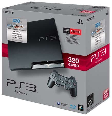Gigabit on 320gb Playstation 3 To Retail Without Move Tag Along For  350