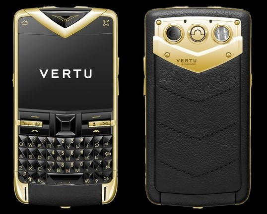 Vertu Constellation Quest in gold