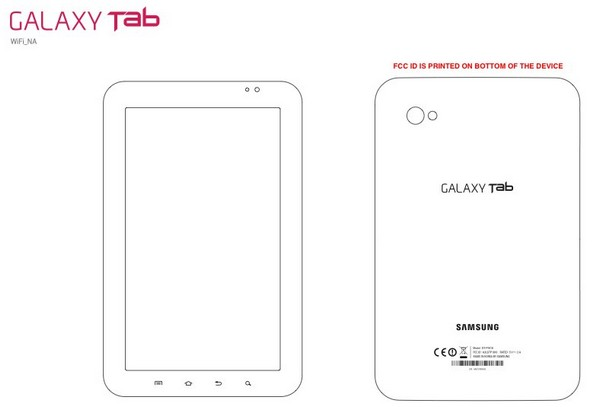 WiFi-only Galaxy Tab stops by the FCC for tea