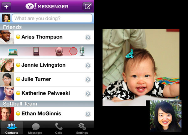 Updated Yahoo Messenger App Now Available in App Store