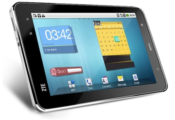 ZTE Android Tablet