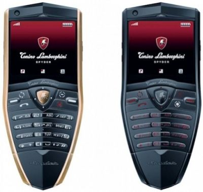 Lamborghini Spyder handset totally unnecessary, available in Hong Kong