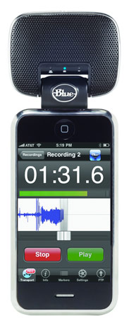 Blue's Mikey microphone for iPhone and iPod finally shipping to picky recorders