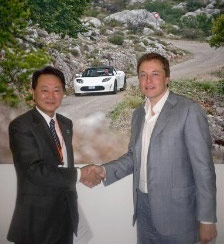 Panasonic Invests $30 Million into Tesla