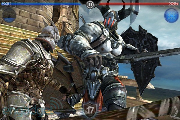 Infinity Blade 1 on iPad