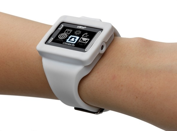 Swap Rebel watch phone laughs at your wrist-mounted iPod nano