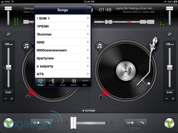 App Review: Djay for iPad