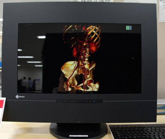 Eizo announces more detail on glasses-free 3D DuraVision LCD, releases more pics of this BBW