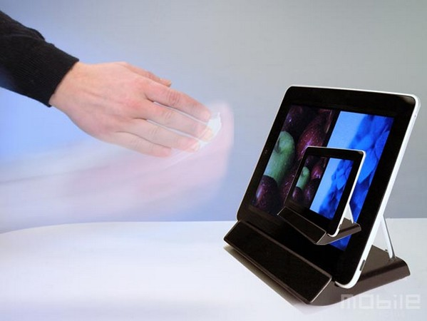 Elliptic Labs set to save your iPad from smudges with 3D gesture-sensing dock (video)