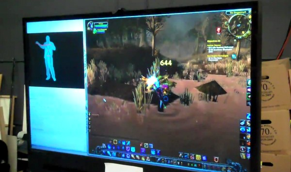 Free Kinect keyboard emulator lets you WoW while AFK
