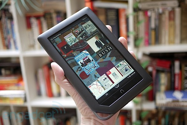 Nook Color getting Android 2.2 in January, current FroYo and Market hacks could make it blow up
