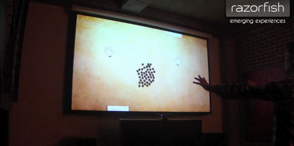 Razorfish ports DaVinci interface to Kinect, makes physics cool (video)