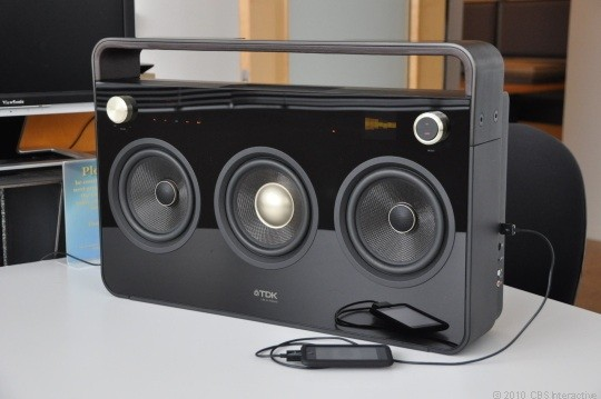 TDK Three-Speaker Boombox