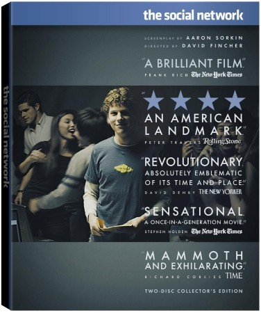 Sony schedules The Social Network Blu-ray for release January 11, 2011