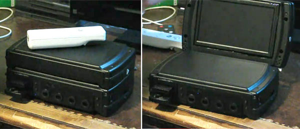 Wii laptop mod ditches the disc gets ultra portable video for Wii u portable mod