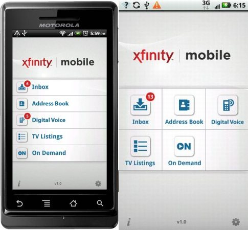 Comcast Releases Xfinity Mobile App For Android With Dvr