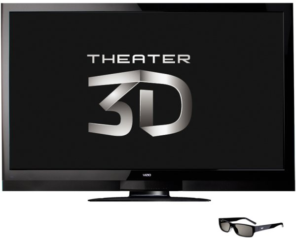 VIZIO 65-inch Theater 3D TV