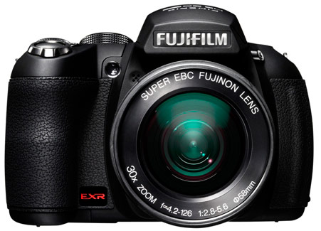 Fujifilm 30x Optical Zoom on Finepix HS20EXR